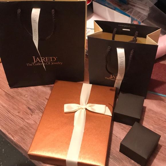 Jared Jewelry Box And Bag Poshmark